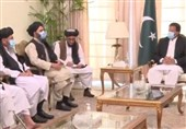 عمران خان در دیدار با طالبان: برخی برای تخریب روند صلح تلاش میکنند