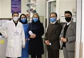هیئت عزاداران اربعین حسینی از کادر درمان بیمارستان شهدای تجریش تقدیر کردند + فیلم