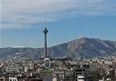 """کیفیت هوای تهران به وضعیت """"پاک"""" نزدیک شد"""