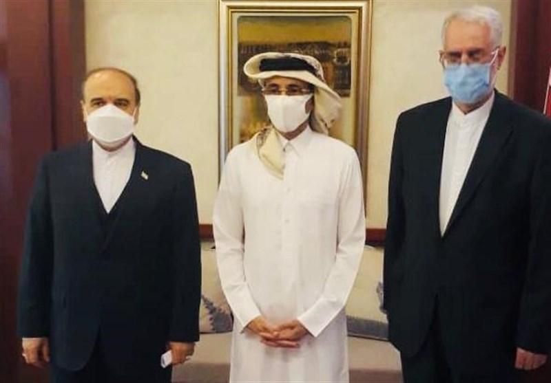 وزیر الریاضة الإیرانی یلتقی نظیره القطری فی الدوحة