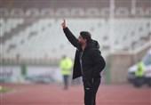 حاشیه دیدار پرسپولیس - سایپا| فریادهای قربانی از روی سکوها و اعتراض شدید گلمحمدی