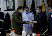 برگزاری مراسم تجلیل از خانوادههای شهدای مدافع سلامت بیمارستان بقیهالله(عج)