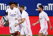 لالیگا  ادامه روزهای خوش رئال مادرید با شکست ایبار/ تفاضل گل، مانع صدرنشینی شاگردان زیدان شد