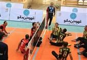 لیگ برتر والیبال نشسته| برتری شهرداری گنبد و شهرداری ورامین مقابل حریفان