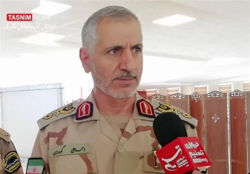 فرمانده مرزبانی ناجا: انتقام خون شهید مرزبانی را از ضدانقلاب میگیریم/ تروریستها را به درک واصل میکنیم