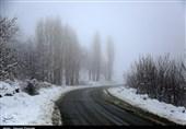 آخرین وضعیت راهها؛ اسامی جادههای مسدود/ بارش برف در محورهای 2 استان