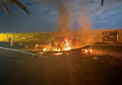 عراق|ادامه خشم از جنایت آمریکا در ترور شهیدان المهندس و سلیمانی/ سائرون: حضور نظامی آمریکا اشغالگری و توافق امنیتی با آن ذلتبار است