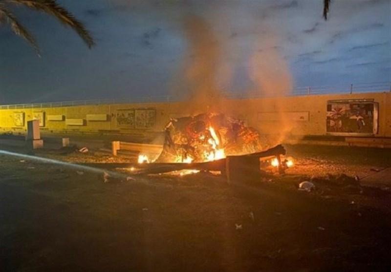 عراق ادامه خشم از جنایت آمریکا در ترور شهیدان المهندس و سلیمانی/ سائرون: حضور نظامی آمریکا اشغالگری و توافق امنیتی با آن ذلت بار است