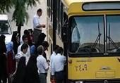 ادامه اعتراض صنفی رانندگان اتوبوس شهری ارومیه/ مطالبه رانندگان تا پایان فروردین پرداخت میشود