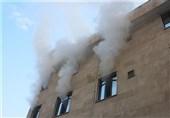 آتشسوزی کارگاه طلاسازی در بازار تهران + تصاویر