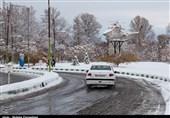 بارش برف و باران در جادههای 9 استان/ افزایش تردد وسایل نقلیه در جادههای کشور