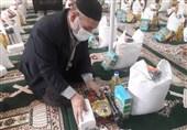 200 بسته حمایتی جهادگران و مهاجرین افغانستانی اهل سنت برای نیازمندان +عکس