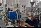 جهش تولید در استانها ـ 3| تحقق جهش تولید در یک واحد تولیدی قزوین / اشباع بازار از مواد ضدعفونی ایرانی + فیلم