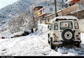 کولاک برف اردبیل را در برمیگیرد