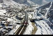 آخرین وضعیت جادهها 99/11/19  برف و باران در محورهای مواصلاتی 16 استان
