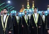 """""""رایةالنصر"""" اولین اجرای بینالمللی گروههای تواشیح برای سیدالشهدای محور مقاومت"""