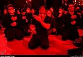 مراسم عزاداری دهه فاطمیه در امامزاده حسن (ع) کرج برگزار شد + تصاویر