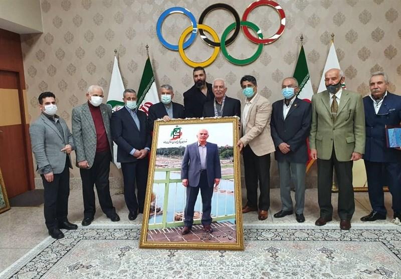تقدیر از پیشکسوتان بوکس با حضور رئیس کمیته ملی المپیک