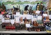 کشف بیش از 700 بطری مشروبات الکلی در محدوده خیابان جمهوری + تصاویر
