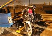 تصادف مرگبار موتورسنگین با عابرپیاده + تصاویر