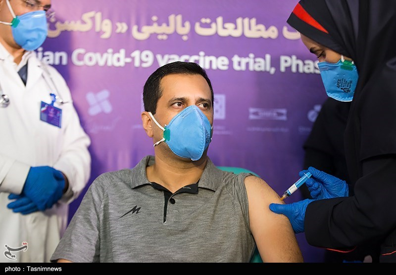 All Volunteers in Good Health after Getting Iranian Vaccine for COVID-19
