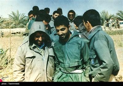 سپهبد شهید حاج قاسم سلیمانی در دوران دفاع مقدس