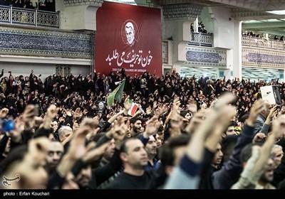 مراسم سوگواری شهادت سپهبد شهید حاج قاسم سلیمانی در مصلی تهران