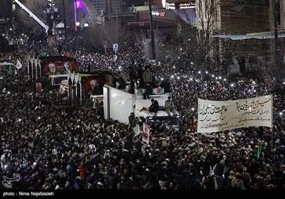 تشییع سپهبد شهید حاج قاسم سلیمانی در مشهد