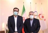 برگزاری نشست صالحی امیری با مسئولین شبکه ورزش جهت حمایت از کاروان اعزامی ایران به المپیک
