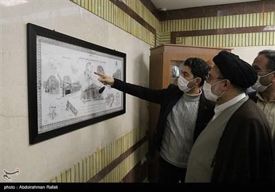 بازدید رییس سازمان اوقاف و امور خیریه کشور از موزه وقف همدان