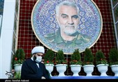 رئیس سازمان تبلیغات اسلامی به مقام شامخ شهید سلیمانی ادای احترام کرد + تصاویر