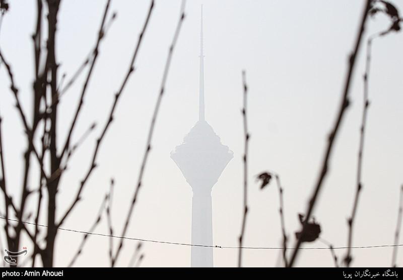 تداوم آلودگی هوای تهران برای گروههای حساس جامعه/ دمای هوا به صفر میرسد