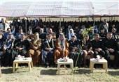 مراسم بزرگداشت شهیدان سلیمانی و المهندس در دیالی/ عشایر: آمریکا شکستخورده از عراق خواهد رفت