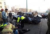 رانندگان در تصادفات جرحی مکلف به حفظ صحنه تصادف هستند