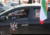 حضور پرشور مردم سیستان و بلوچستان در راهپیمایی خودرویی
