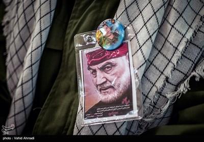 گرامیداشت اولین سالگرد شهادت سپهبد حاج قاسم سلیمانی در دانشگاه افسری امام حسین(ع)
