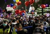 """جشن سال نو در """"ووهان""""؛ شهری که منشا جهانی کرونا بود + تصاویر"""