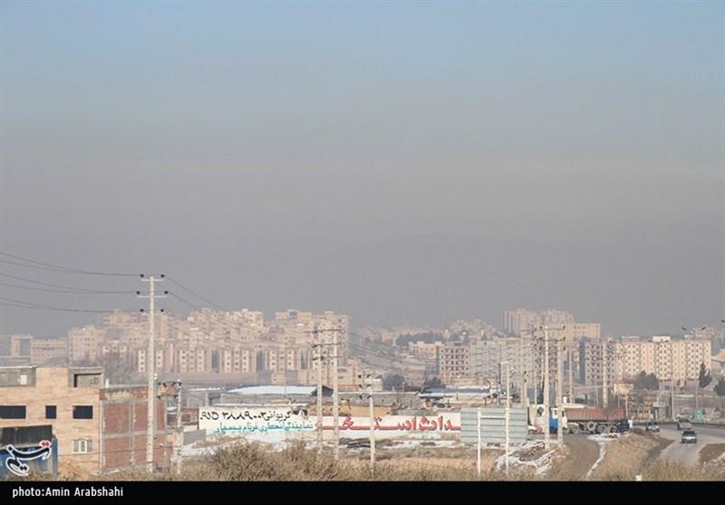 قرارگیری وضعیت هوای 6 شهر در شرایط ناسالم