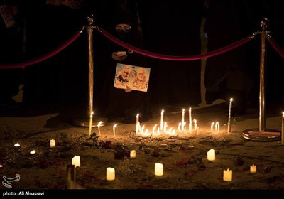 Iraqis Keep Vigil in Commemoration of Gen. Soleimani, Al-Muhandis