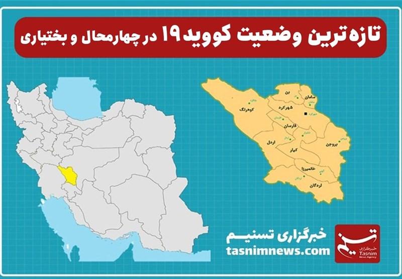 5 شهرستان استان چهارمحال و بختیاری در وضعیت نارنجی قرار گرفت