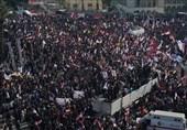 عراق|برگزاری مراسم سالگرد شهدای مقاومت در میدان التحریر بغداد/ سالگرد حاج قاسم به تظاهرات ضد آمریکایی تبدیل شد+فیلم و تصاویر