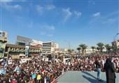 کتائب حزب الله عراق: حضور میلیونی مردم عراق در مراسم سالگرد حاج قاسم سیلی دردناکی برای آمریکا بود