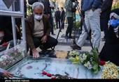 پدر شهید حججی به مقام شامخ شهید سلیمانی ادای احترام کرد + تصاویر