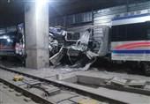 خروج واگن از ریل در متروی تبریز / قطار مسافر نداشت