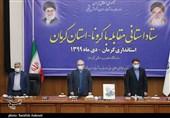 حضور وزیر بهداشت در ستاد کرونا استان کرمان به روایت تصویر