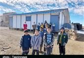 ماجرای فروش مدرسه روستای «قلعه خلیله» الیگودرز؛ دانشآموزان کانکسنشین شدند+تصاویر