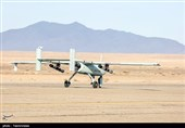 Iranian Drones Launch Top Attack Missile in Drill
