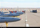 Iranian Drones Launch Air-to-Air Missiles in War Game