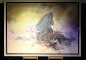 نمایشگاه نقاشیهای عاشورایی «رستاخیز» در حوزه هنری افتتاح شد