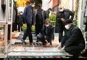 سردار قاآنی به مقام شامخ شهید سلیمانی در گلزار شهدای کرمان ادای احترام کرد + تصاویر